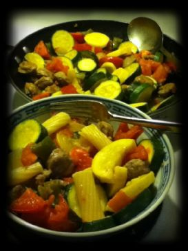 Italian Garden and Sausage Bowl