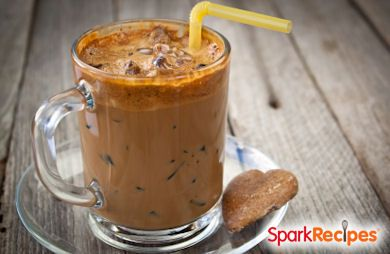 Chocolate PB2 Protein Coffee