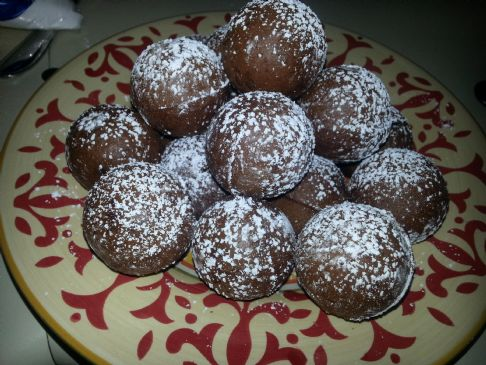 Whole Wheat Chocolate Donut Holes