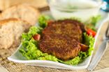 Lentil and Chickpea Burger