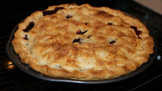Decadent Blueberry Pie