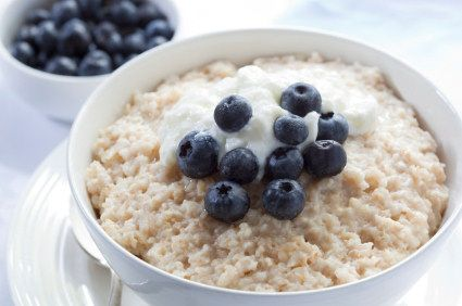 Coach Dean's Blue Oatmeal