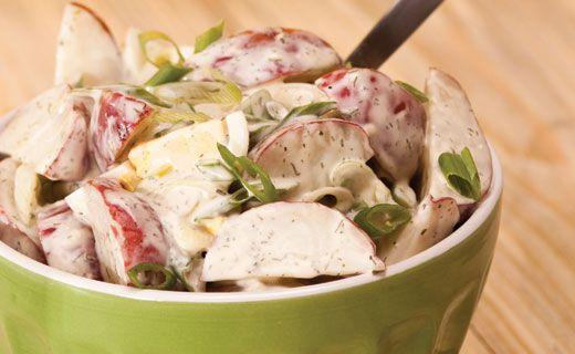 Epicure's Lemon Dilly Potato Salad Madeover