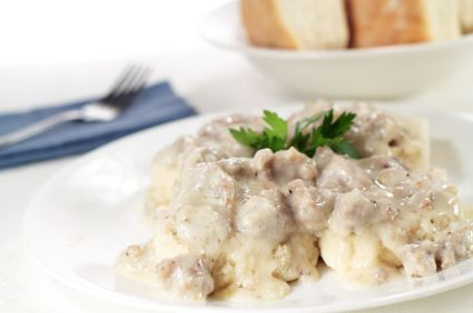 Mushroom 'Sausage' Gravy