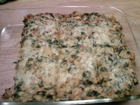 Spinach Tuna Casserole