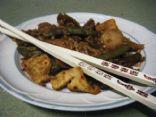 Mongolian Tofu