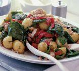Potato, Tuna & Spinach Salad