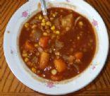 Vegetarian Vegetable Stew in Tomato base