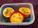 Mini Frittata with Veggies and Beans