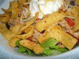 Quick Turkey Taco Salad