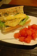 Zesty Fish Po� Boys