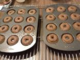 Mini Chocolate Baked Donuts