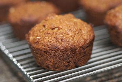 Low-Sugar Chai-Spiced Banana-Nut Muffins
