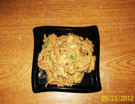 Spicy Chicken Peanut Pasta (Sauce)