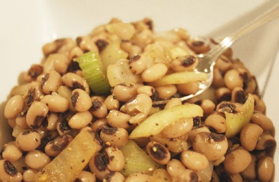 Spiced Black Eyed Pea Medley 