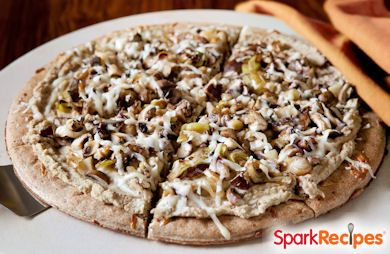 Hearty & Healthy Mushroom Lovers Pizza