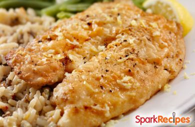 almond and parmesan baked tilapia broiled grouper parmesan broiled ...