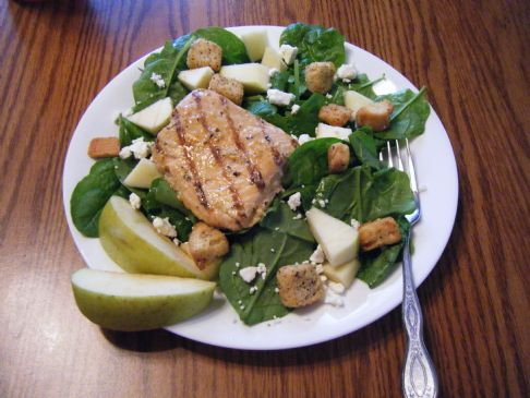 Salmon Apple Feta Salad