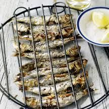 Grilled fresh sardines -Dukan-