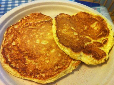 Simple Protein Pancakes (Blogilates Pre-Contest Pancakes)