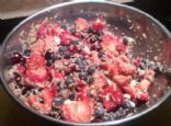 Quinoa Almond Berry Salad