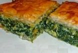 Reduced Calorie Spanakopita with Kale