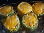 Quinoa and Baby Bella Stuffed Bell Peppers