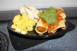Pumpkin Enchiladas adapted from Hungry Girl