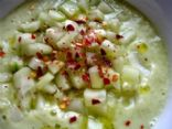 Raw Creamy Cucumber Soup
