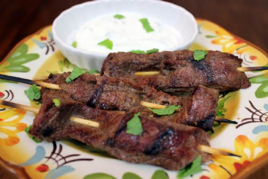 Chinese Five Spice Beef Kabobs Recipe | SparkRecipes