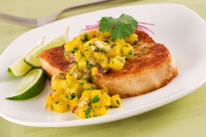 Island Chicken with Pineapple Salsa