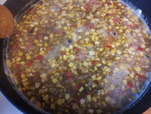 Chorizo Black Bean Soup with Beer