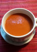 Homemade Low Sodium Tomato Soup (1 cup)