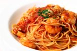 Linguine with Spicy Shrimp Sauce (Chef Meg's makeover)
