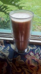 Chocolate Coconut LCHF Warrior Shake