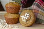 Banana Oatmeal Flax Muffins