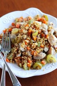 Chicken and Couscous Skillet