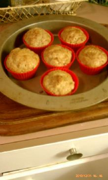 Low Cal, Low Carb, Flax-Bran Muffins