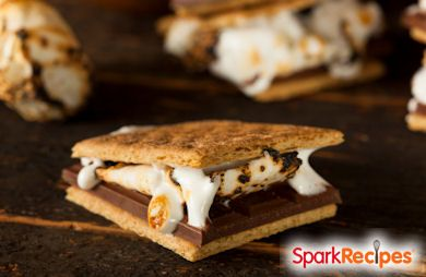 Chocolate and Peanut butter smores