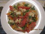 Quinoa Asparagus Tomato Entree