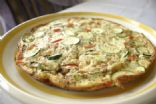 Light egg white vegetable frittata