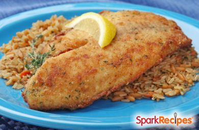 Broiled Tilapia Parmesan Recipe | SparkRecipes