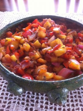Pineapple Pepper Salsa