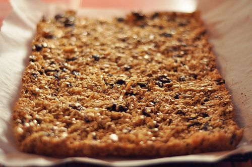 Homemade Oatmeal Cereal Bars