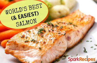 World's Best (and Easiest) Salmon Recipe by VRAKLIS | SparkRecipes