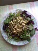 Raw Corn & Avocado Salad