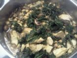 Sasha's Kale and chicken love soup