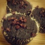 Healthy Chocolate Chocolate Chip Muffins