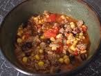 Heather's Healthy Fast Turkey Chili