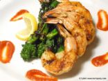 HCG Phase 2 - Grilled Shrimp and Raab